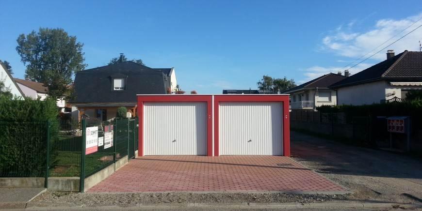 construction de garage à Colmar