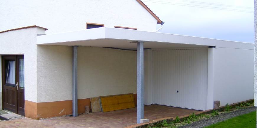 garage + carport
