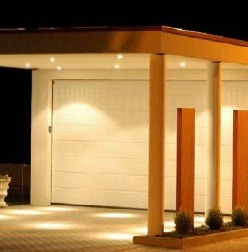 Garage avec carport béton