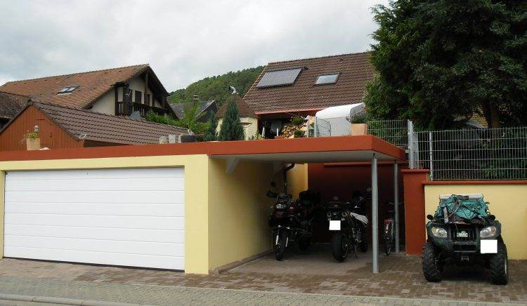 Garage double 1 porte