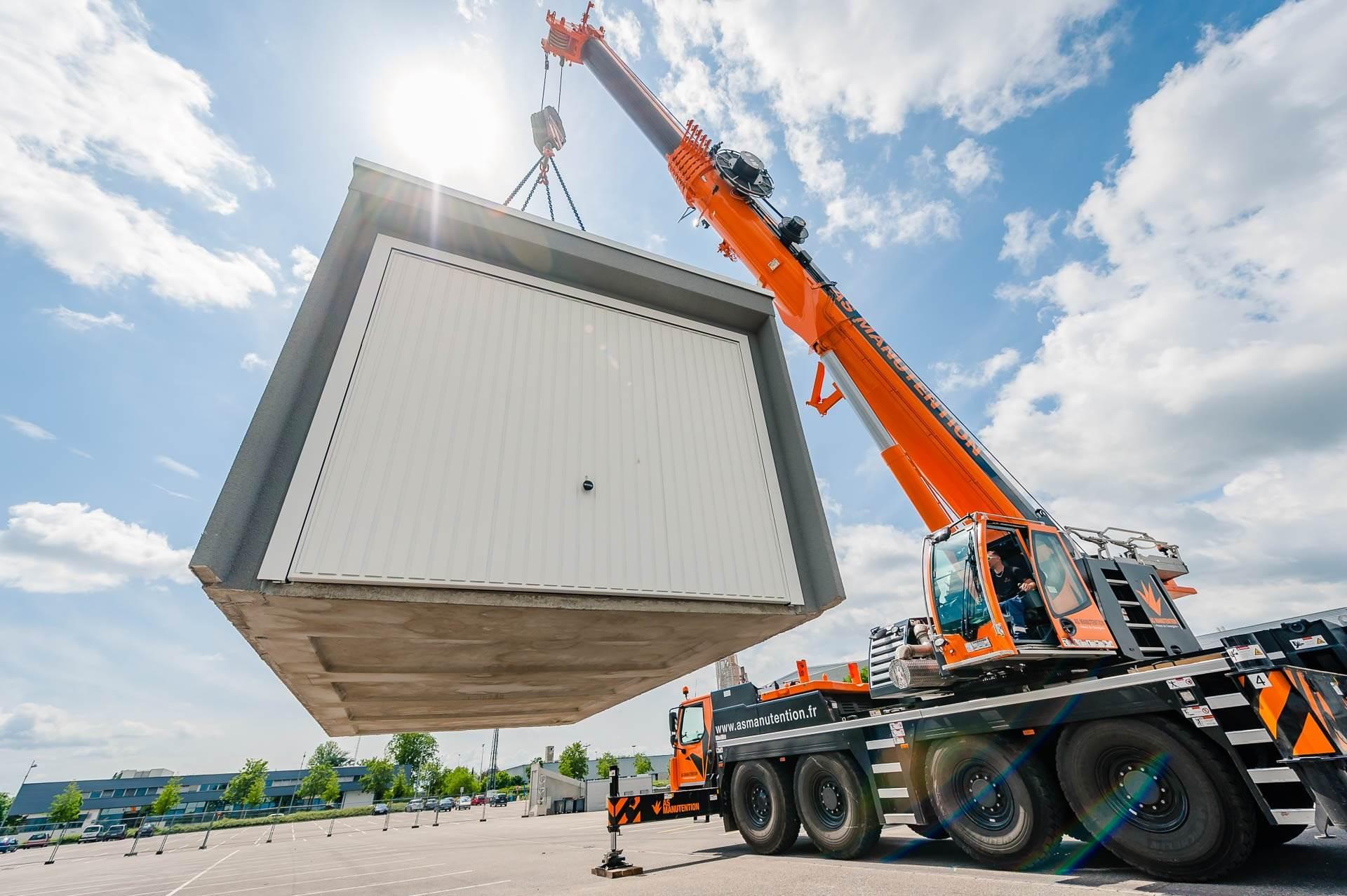 Fabricant et distributeur de garages pr fabriqu s en b ton - Garage metallique prefabrique belgique ...